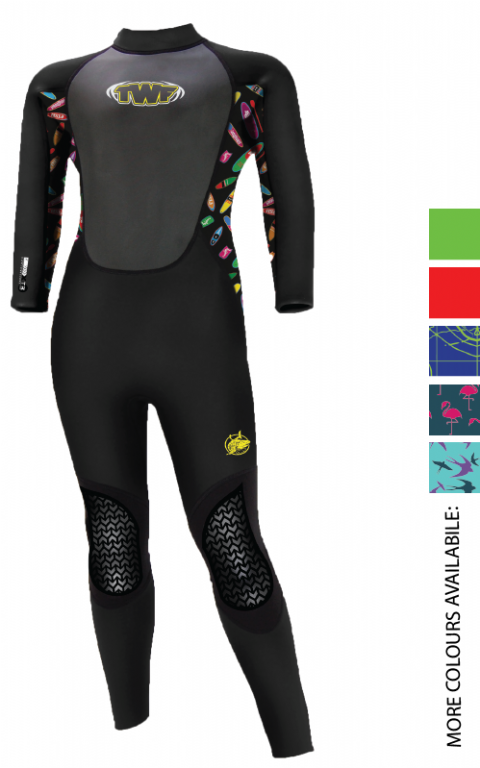 TWF XT3 3MM KIDS FULLSUIT  (AGES 2-7)
